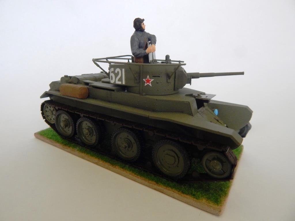 Пономарёв Андрей. Танк БТ-7