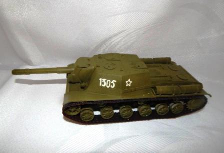 РАСПУТУКИН СЕРГЕЙ. Советская самоходная артиллерийская установка СУ-152