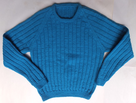 Woollen Jumper for Grandson (fits 95cm chest)