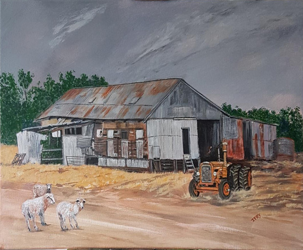 Old Shearing Shed near Dookie.