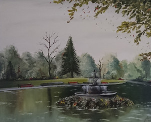 Water Fountain in Ireland