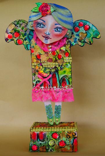 Art Muse Doll - Repurposed