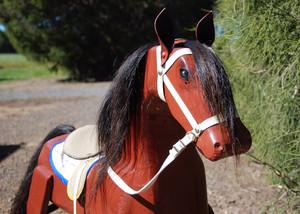 Restored Rocking Horse