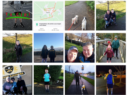 Virtual Fundraisers: 'Movathon' - Arravale Rovers, Tipperay Town