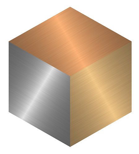 Try Metal Hex Tile one inch thick