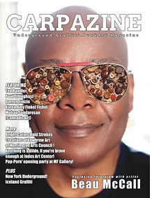 Carpazine Art Magazine Issue 19 Cover