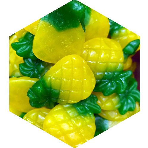 Pineapple Candy Hex Tile one inch thick