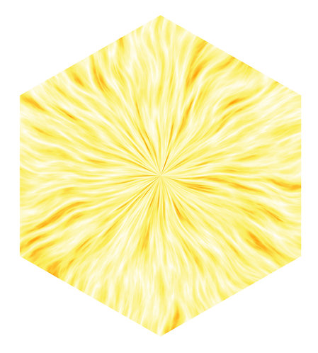 Blaze Hex Tile one inch thick