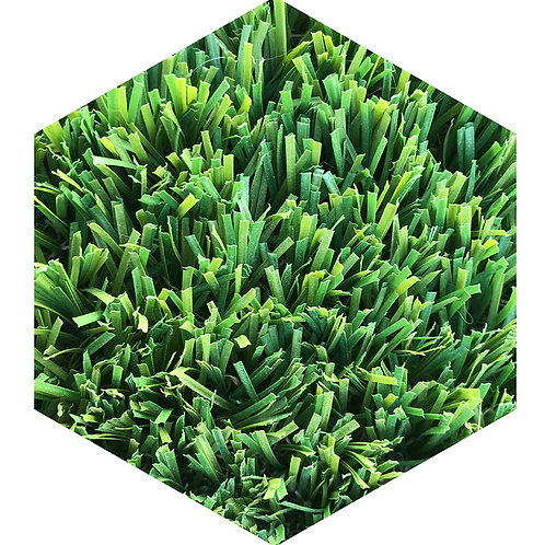 Grass Hex Tile one inch thick
