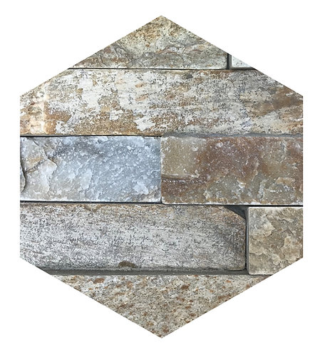 Fireplace Hex Tile one inch thick