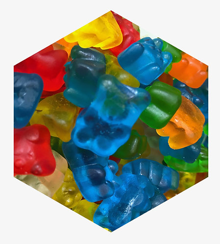 Gummies Hex Tile one inch thick