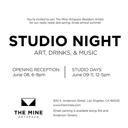 Open Studios at The Mine Arts Complex in downtown Los Angeles