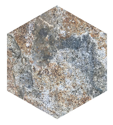 Rock Hex Tile one inch thick