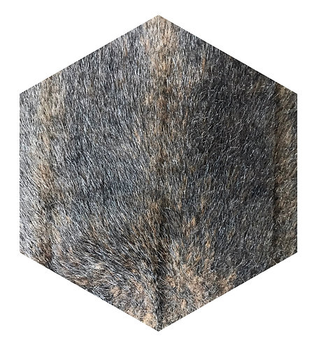 Mink Hex Tile one inch thick