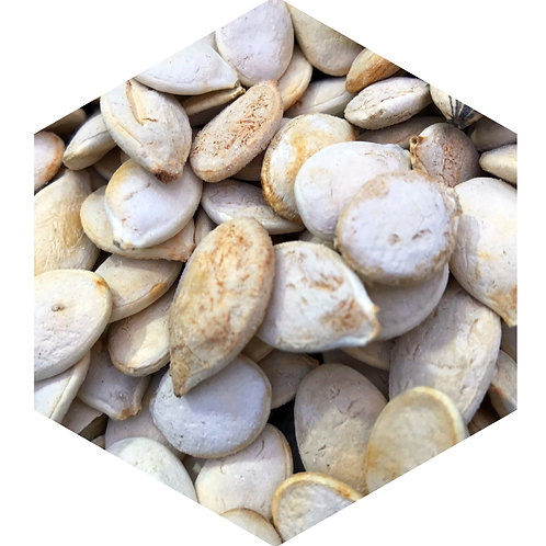 Pumpkin Seeds Hex Tile one inch thick