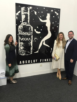 Absolut Finkel (w people for scale)