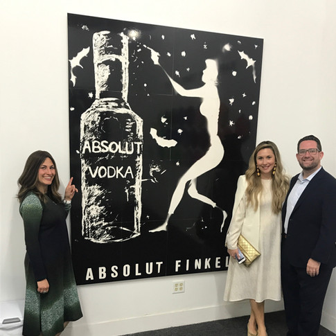 Absolut Finkel (with people for scale)