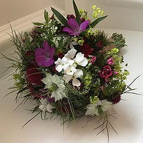 I was so delighted to grow and arrange t