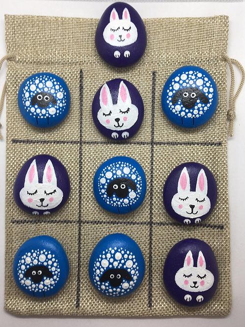 Tic Tac Toe Set | Rabbits and Sheep