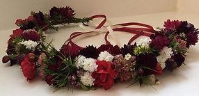 Bridal Flower Crown, Wedding hair flowers