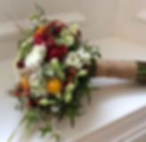 Seasonal Locally Grown Bridal Bouquet. These wedding flower are made with British Flowers
