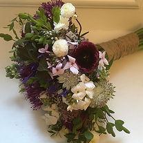 A bridal bouquet for a beautiful bride.