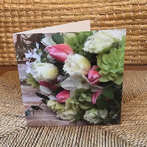 Flower Greetings Card