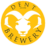 DENT BREWERY ROUND LOGO YELLOW TRANSPARE