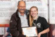 lauren with bronze award.jpeg