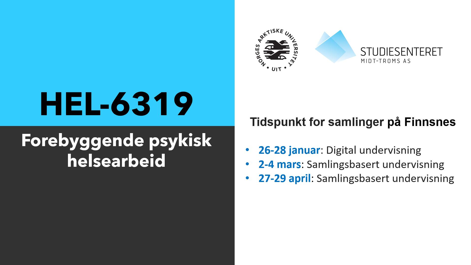 HEL-6319 samlinger på Finnsnes