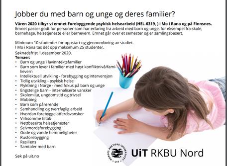 Jobber du med barn og unge og deres familier?