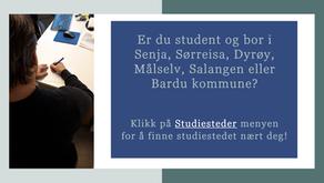 Er du student og trenger et sted å sitte og studere?