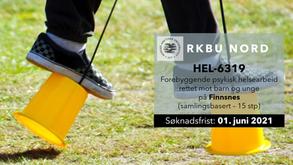 HEL-6319 Forebyggende psykisk helsearbeid rettet mot barn og unge(samlingsbasert)–15 stp Høst 2021
