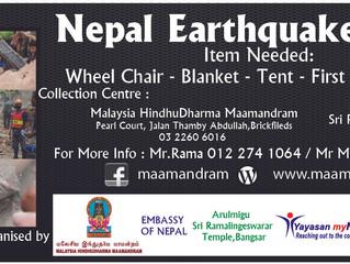 Nepal earthquake Prayer & Relief