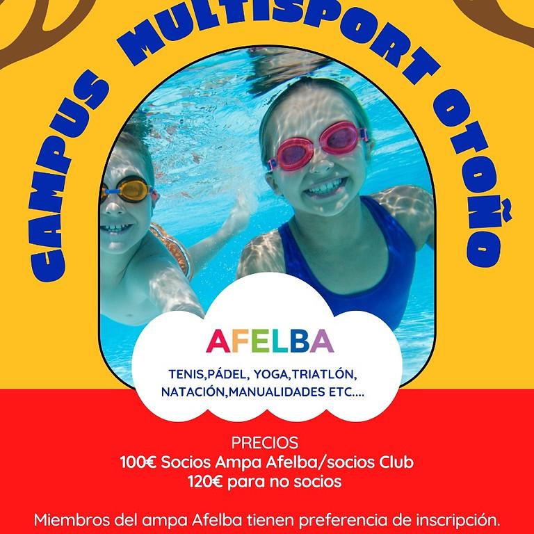 Campus Otoño natación