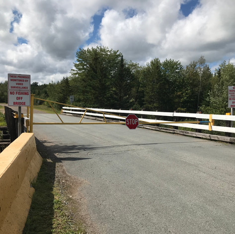 Mine Access Bridge