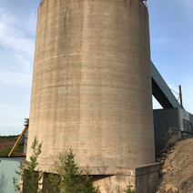 Crushed Ore Storage Silo