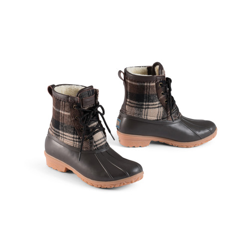 ae7c47f42 Plaid Duck Boot