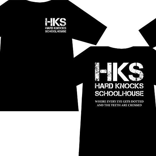 T-Shirt - Hard Knocks Schoolhouse Logo for Men