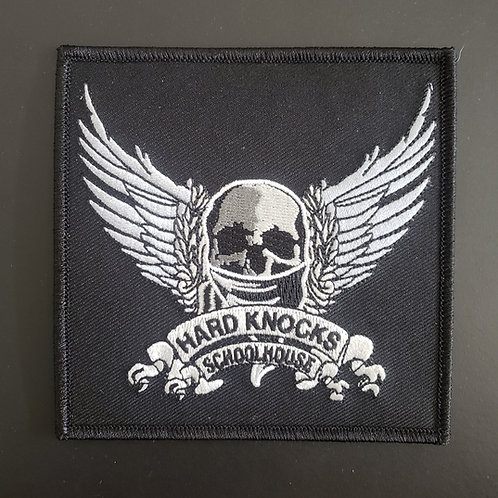 "HKS Patch  ""Skull and Wing"""