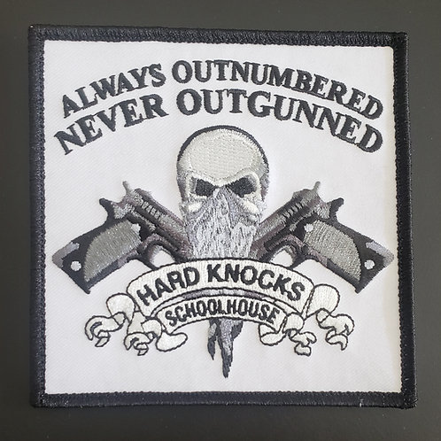 """HKS Patch """"Always Outnumbered Never Outgunned"""""""
