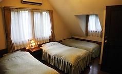 エクゼクティブスイートのベッドルーム2