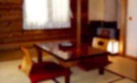 ジャパネスクスイートの和室