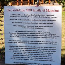 BeatleCuse Family of Musicians - 2018