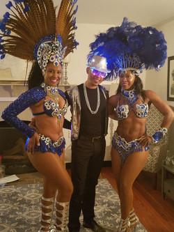 Samba Dancer and Entertainer
