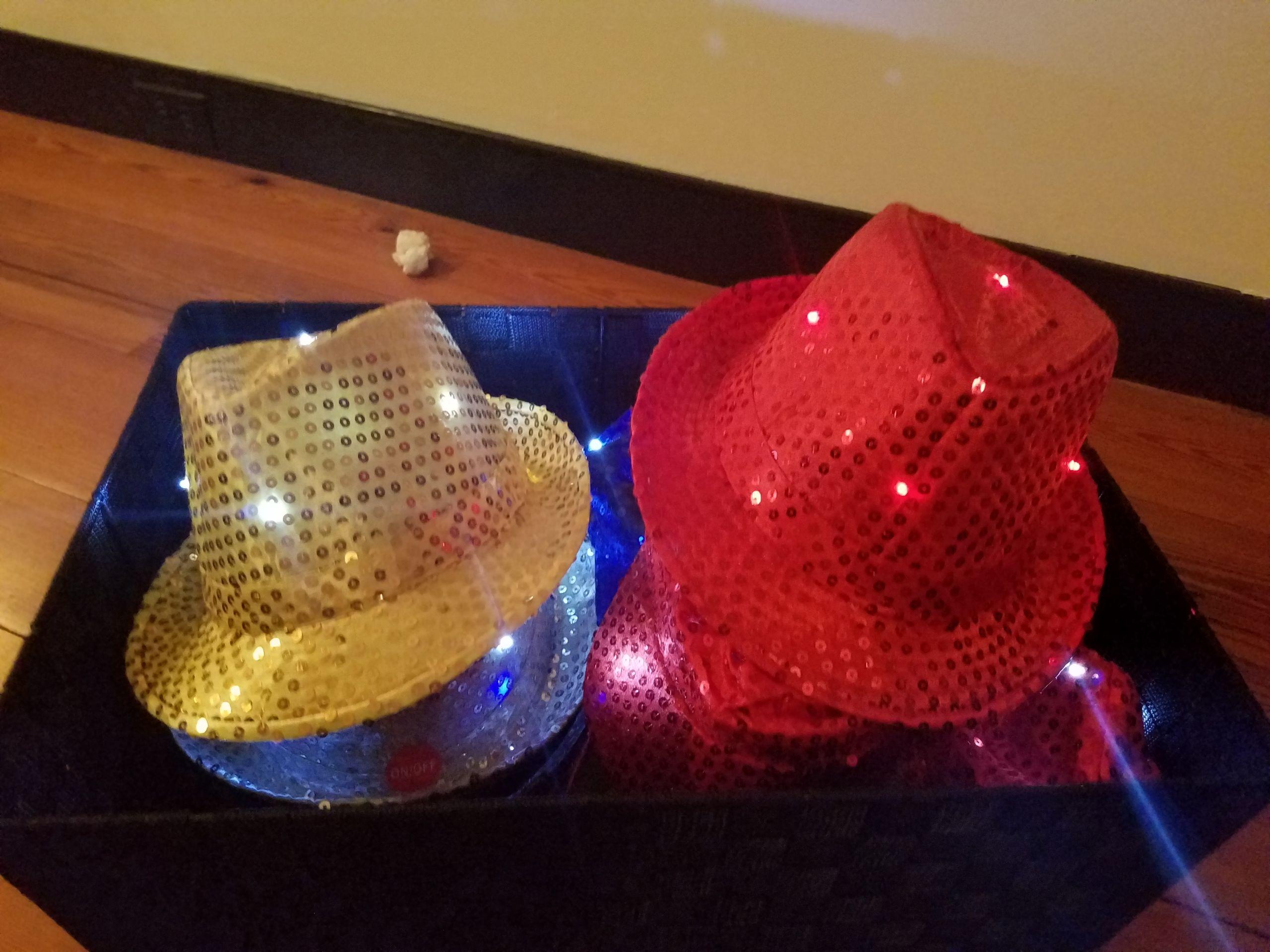 LED hats