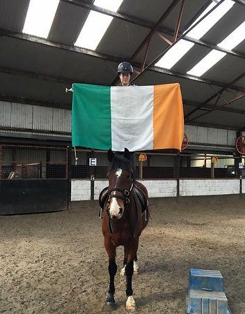 Monty Robert's Horsemanship at Horse Training at Drummndoo Stud on Ireland's Wild Atlantic Way.
