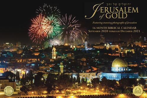 Jerusalem of Gold Calendar