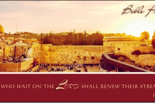 Greeting Card - Western Wall