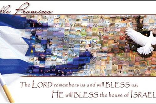 Greeting Card - Israel Mosaic
